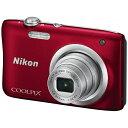 ニコン Nikon A100 コンパクトデジタルカメラ COOLPIX(クールピクス) レッド[A100RD]