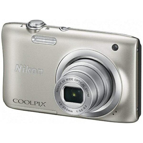 【送料無料】 ニコン A100 コンパクトデジタルカメラ COOLPIX(クールピクス) シルバー