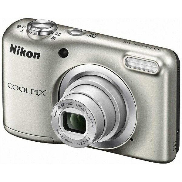 【送料無料】 ニコン A10 コンパクトデジタルカメラ COOLPIX(クールピクス) シルバー