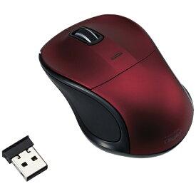 ナカバヤシ Nakabayashi マウス Digio2 mini レッド MUS-RKT109R [BlueLED /無線(ワイヤレス) /3ボタン /USB]【rb_mouse_cpn】