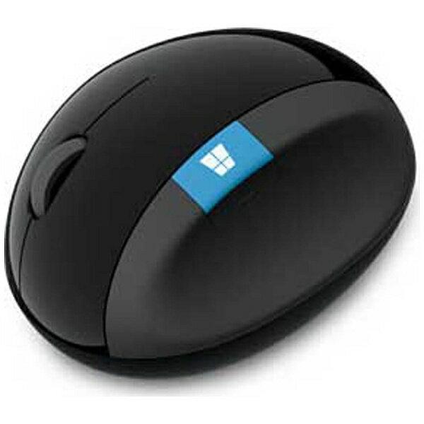 【送料無料】 マイクロソフト ワイヤレスBlueLEDマウス[2.4GHz USB・Win] Sculpt Ergonomic Mouse (4ボタン・ブラック) L6V-00013