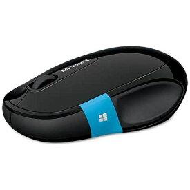 マイクロソフト Microsoft H3S-00017 タブレット対応 マウス Sculpt Comfort Mouse ブラック [BlueLED /3ボタン /Bluetooth /無線(ワイヤレス)][H3S00017]