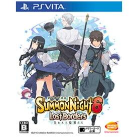 バンダイナムコエンターテインメント BANDAI NAMCO Entertainment サモンナイト6 失われた境界たち【PS Vitaゲームソフト】
