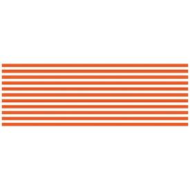 カモ井加工紙 KAMOI MTCA2069 mt CASA 200mm(ボーダー・ブライトオレンジ)
