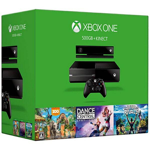 【送料無料】 マイクロソフト Xbox One(エックスボックスワン) 500GB + Kinect [ゲーム機本体] 6QZ-00081