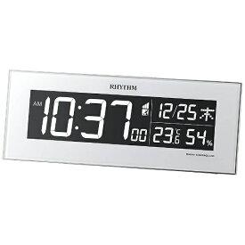 リズム時計 RHYTHM 目覚まし時計 【Iroria】 8RZ173SR03 [デジタル /電波自動受信機能有]
