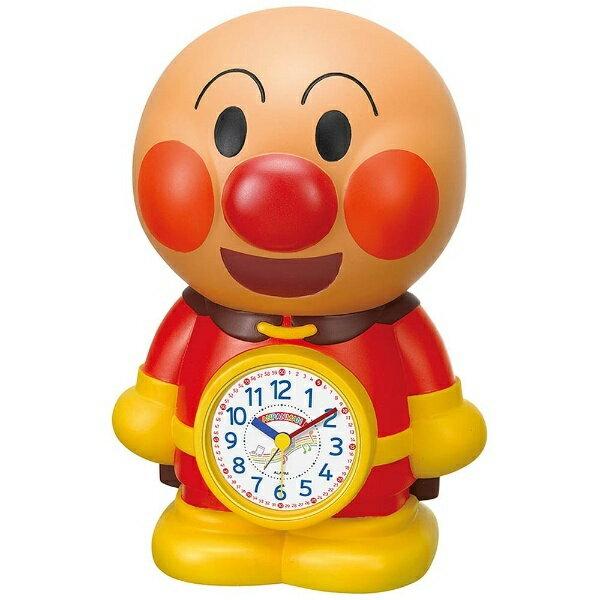 【送料無料】 リズム時計 目覚まし時計 「アンパンマンめざましとけい」 4SE552M06[4SE552M06]