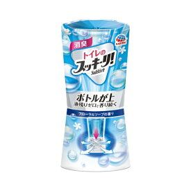 アース製薬 Earth トイレのスッキーリ!Sukki-ri! フローラルソープの香り(400ml)〔消臭剤・芳香剤〕【rb_pcp】