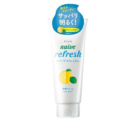 クラシエ Kracie naive(ナイーブ) リフレッシュ洗顔フォーム(海泥配合) (130g) 〔洗顔料〕