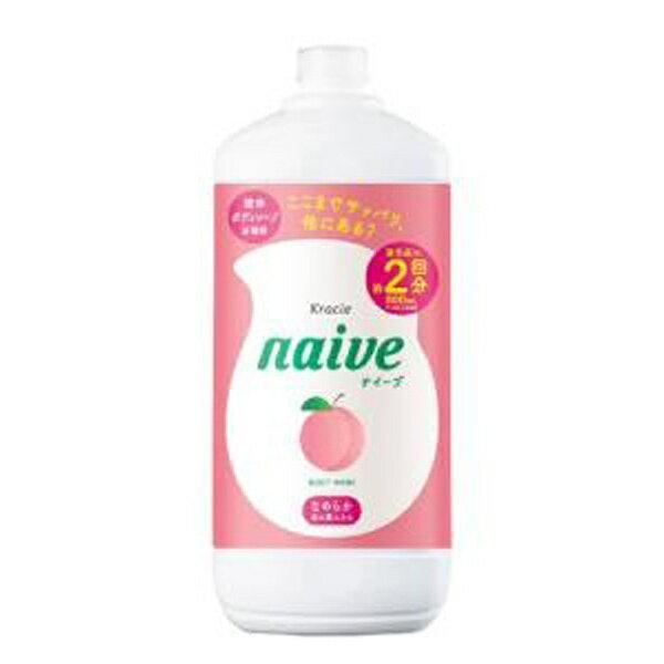 クラシエ Kracie naive(ナイーブ) ボディソープ(桃の葉エキス配合) つめかえ用 (800ml) 〔ボディソープ〕