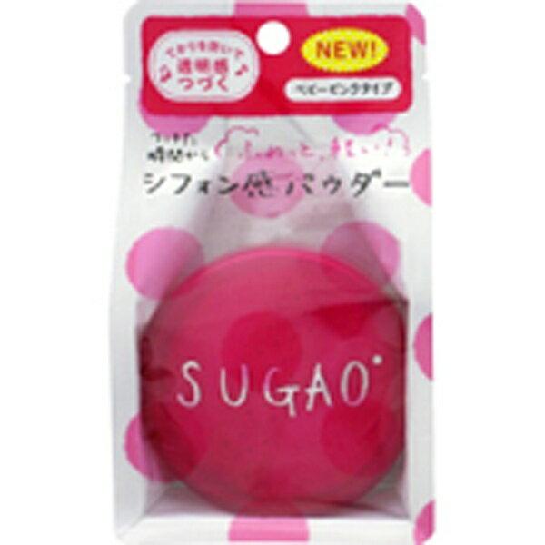 ロート製薬 【SUGAO(スガオ)】シフォン感パウダー ベビーピンクタイプ(6g)