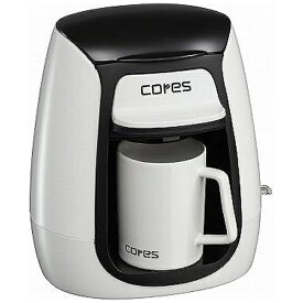 コレス C311WH コーヒーメーカー 1カップコーヒーメーカー[C311WH]