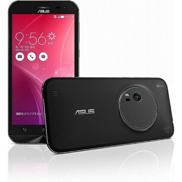 【送料無料】 ASUS ZenFone Zoom スタンダード ブラック「ZX551ML-BK32S4PL」 Android 5.0・5.5型・メモリ/ストレージ:4GB/32GB microSIMx1 SIMフリースマートフォン