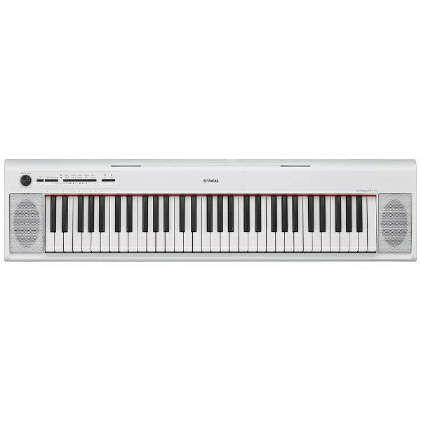 ヤマハ YAMAHA 電子キーボード piaggero(ピアジェーロ)(61鍵盤/ホワイト) NP-12WH[NP12WH]