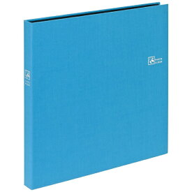 ナカバヤシ Nakabayashi セラピーカラー6面ポケットアルバム(Lサイズ240枚収納/ピュアブルー) TCPK-6L-240PB[TCPK6L240PB]