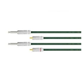 オヤイデ電気 oyaide RCAケーブル(2.0m) QAC-222 RTS/2.0[QAC222RTS2.0]