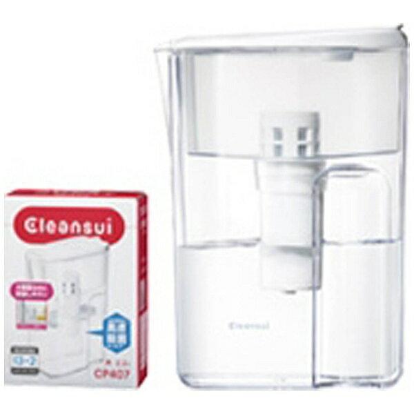 三菱ケミカルクリンスイ MITSUBISHI CHEMICAL CP407-WT 浄水ポット Cleansui(クリンスイ) ポットシリーズ[CP407WT]
