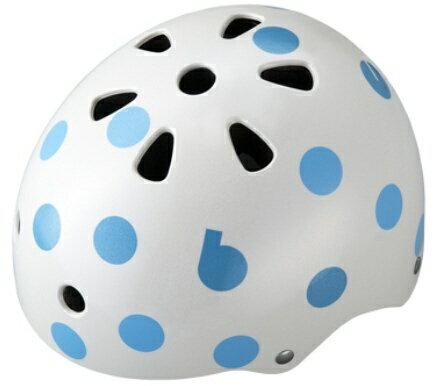 ブリヂストン 子供用ヘルメット bikkeジュニアヘルメット(ドットブルー/51〜57cm) CHBH5157