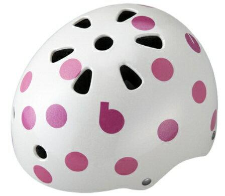 ブリヂストン 子供用ヘルメット bikkeジュニアヘルメット(ドットピンク/51〜57cm) CHBH5157