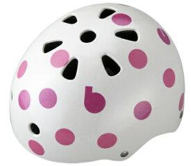 ブリヂストン BRIDGESTONE 子供用ヘルメット bikkeジュニアヘルメット(ドットピンク/51〜57cm) CHBH5157
