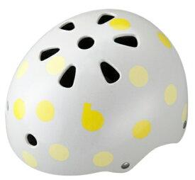 ブリヂストン BRIDGESTONE 子供用ヘルメット bikkeジュニアヘルメット(ドットイエロー/51〜57cm) CHBH5157
