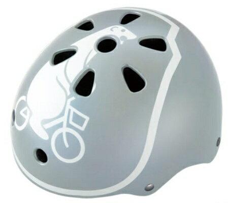 ブリヂストン 幼児用ヘルメット bikkeキッズヘルメット(ブルーグレー/46〜52cm) CHBH4652