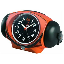 セイコー SEIKO 目覚まし時計 ULTRA RAIDEN(ウルトラライデン) オレンジメタリック NR441E [アナログ][NR441E]