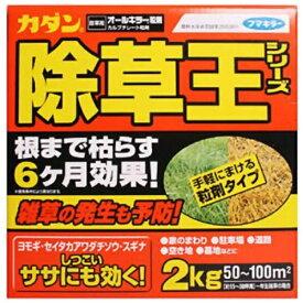 フマキラー FUMAKILLA カダン オールキラー粒剤 2kg 〔除草剤〕