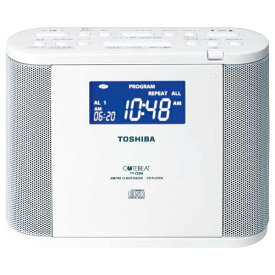 東芝 TOSHIBA CDラジオ TY-CDR8 ホワイト [ワイドFM対応][TYCDR8]