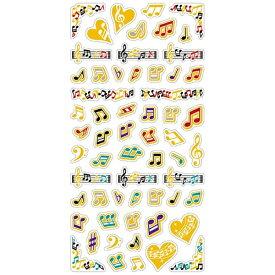 フロンティア FRONTIA [シール] 金の音符 SL-153