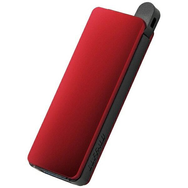 BUFFALO バッファロー USB3.0メモリ RUF3-PNシリーズ (8GB・レッド) RUF3-PN8G-RD
