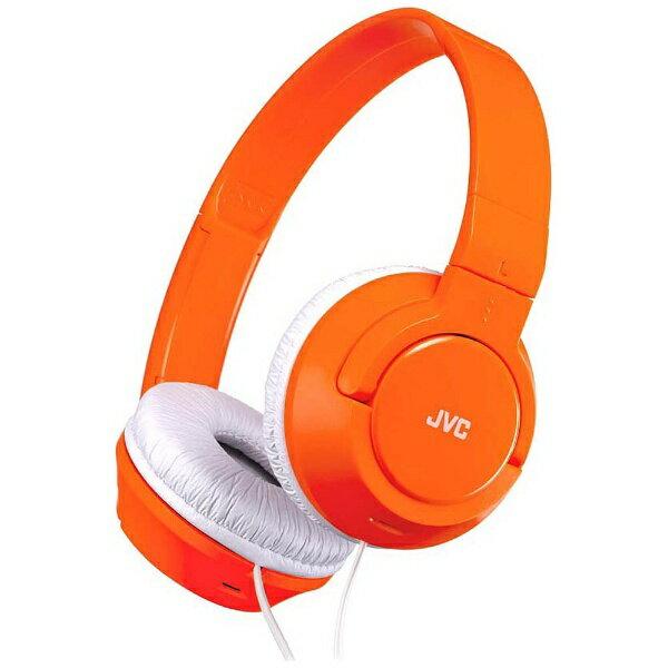 JVC ヘッドホン(オレンジ) HA-S240-D[HAS240D]