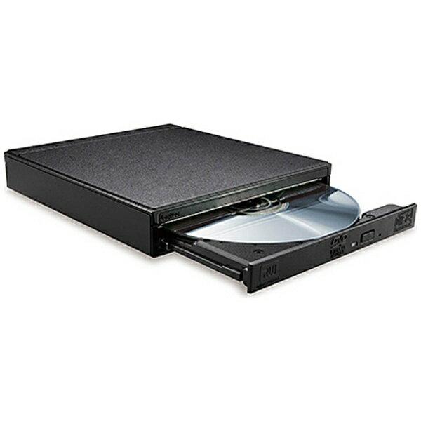 【送料無料】 ロジテック スマートフォン/タブレット対応[iOS/Android・Wi-Fi] DVD再生+音楽CD取り込みドライブ  LDR-PS8WU2VBK(ブラック)