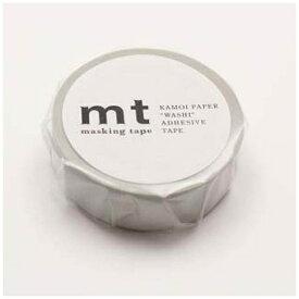 カモ井加工紙 KAMOI mtマスキングテープ 1P パステルグレー MT01P312