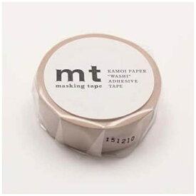 カモ井加工紙 KAMOI mtマスキングテープ 1P パステルブラウン MT01P311