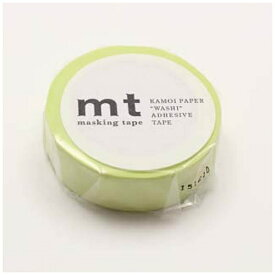 カモ井加工紙 KAMOI mtマスキングテープ 1P パステルライム MT01P310