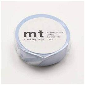カモ井加工紙 KAMOI mtマスキングテープ 1P パステルブルー MT01P306