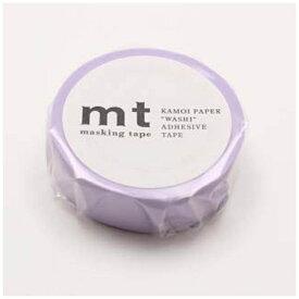 カモ井加工紙 KAMOI mtマスキングテープ 1P パステルパープル MT01P305