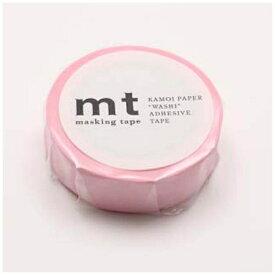 カモ井加工紙 KAMOI mtマスキングテープ 1P パステルピンク MT01P304