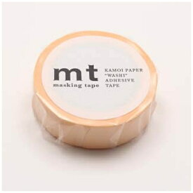 カモ井加工紙 KAMOI mtマスキングテープ 1P パステルオレンジ MT01P302
