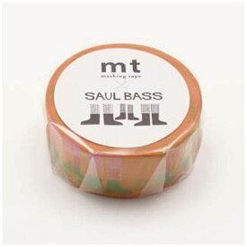 カモ井加工紙 KAMOI mtマスキングテープ ×アーティストシリーズ ソール・バス WALK MTSAUL03