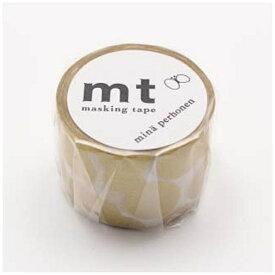 カモ井加工紙 KAMOI mtマスキングテープ ×ミナペルホネン soda water・gold MTMINA32