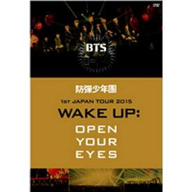 ポニーキャニオン PONY CANYON 防弾少年団/1st JAPAN TOUR 2015「WAKE UP:OPEN YOUR EYES」 【DVD】