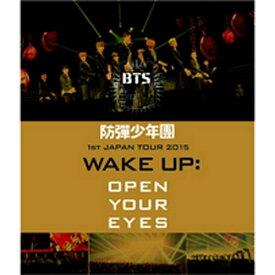 ポニーキャニオン PONY CANYON 防弾少年団/防弾少年団 1st JAPAN TOUR 2015「WAKE UP:OPEN YOUR EYES」 【ブルーレイ ソフト】