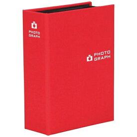 ハクバ HAKUBA ポケットアルバムNUNO ポストカードサイズサイズ80枚入り(レッド)ANNPC80RD[生産完了品 在庫限り]