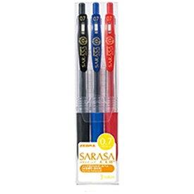 ゼブラ ZEBRA [ジェルボールペン] サラサクリップ 3色セット (ボール径:0.7mm) JJB15-3CA