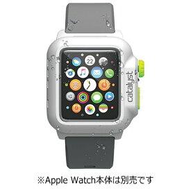 トリニティ Trinity カタリスト Apple Watch 42mm用 完全防水ケース CT-WPAW15-WTGR White Green[CTWPAW15WTGR]