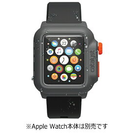 トリニティ Trinity カタリスト Apple Watch 42mm用 完全防水ケース CT-WPAW15-BKOR Black Orange[CTWPAW15BKOR]