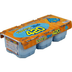 エステー ドライペットスキット 3個パック 420ml×3〔除湿剤・乾燥剤〕