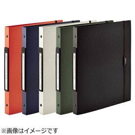 リヒトラブ LIHIT LAB. [ファイル] SMART FIT 2タイプポケットクリヤーブック交換式 (色:オレンジ、規格:A4タテ型(S型) 30穴) N-7520-4